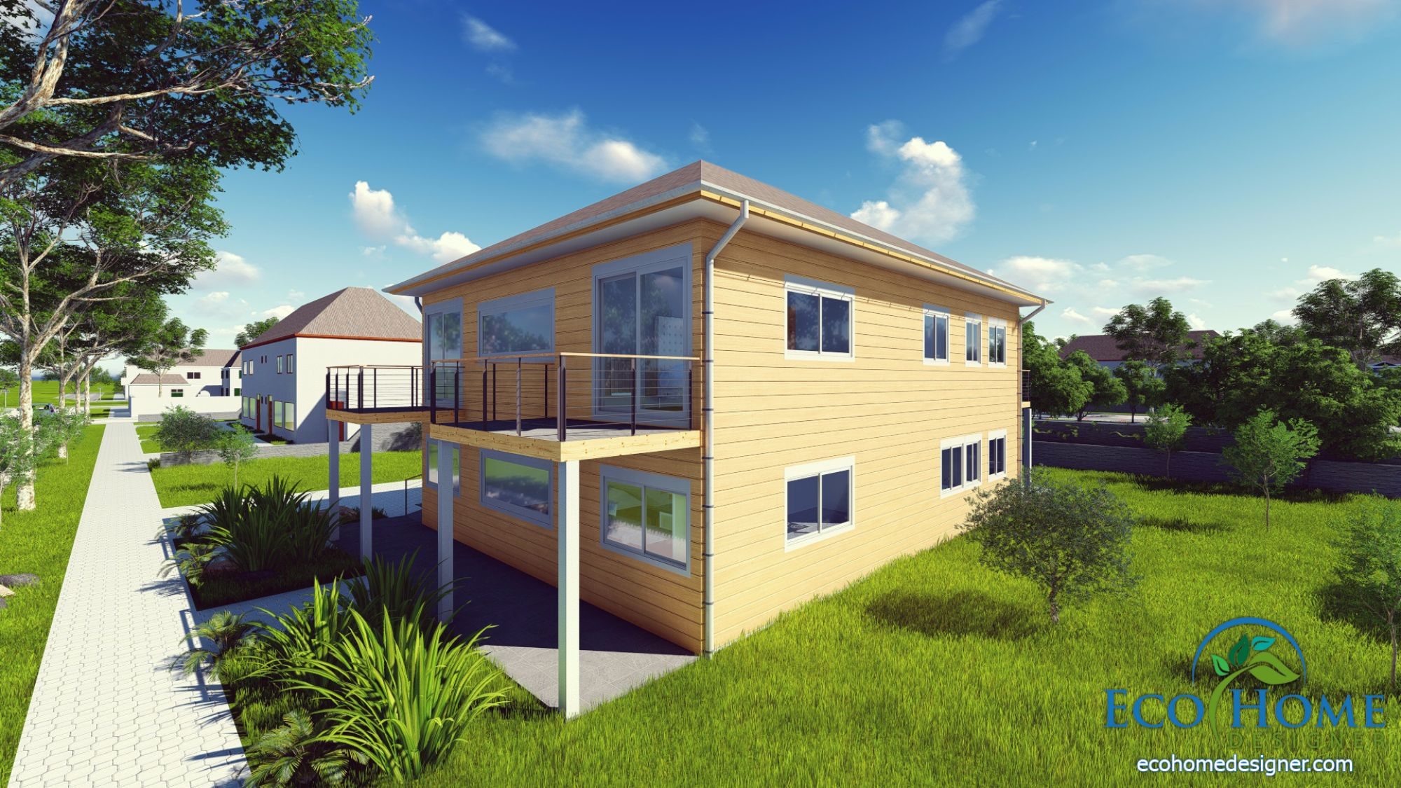 sch10 4 x 40ft 4 bedroom container home eco home designer