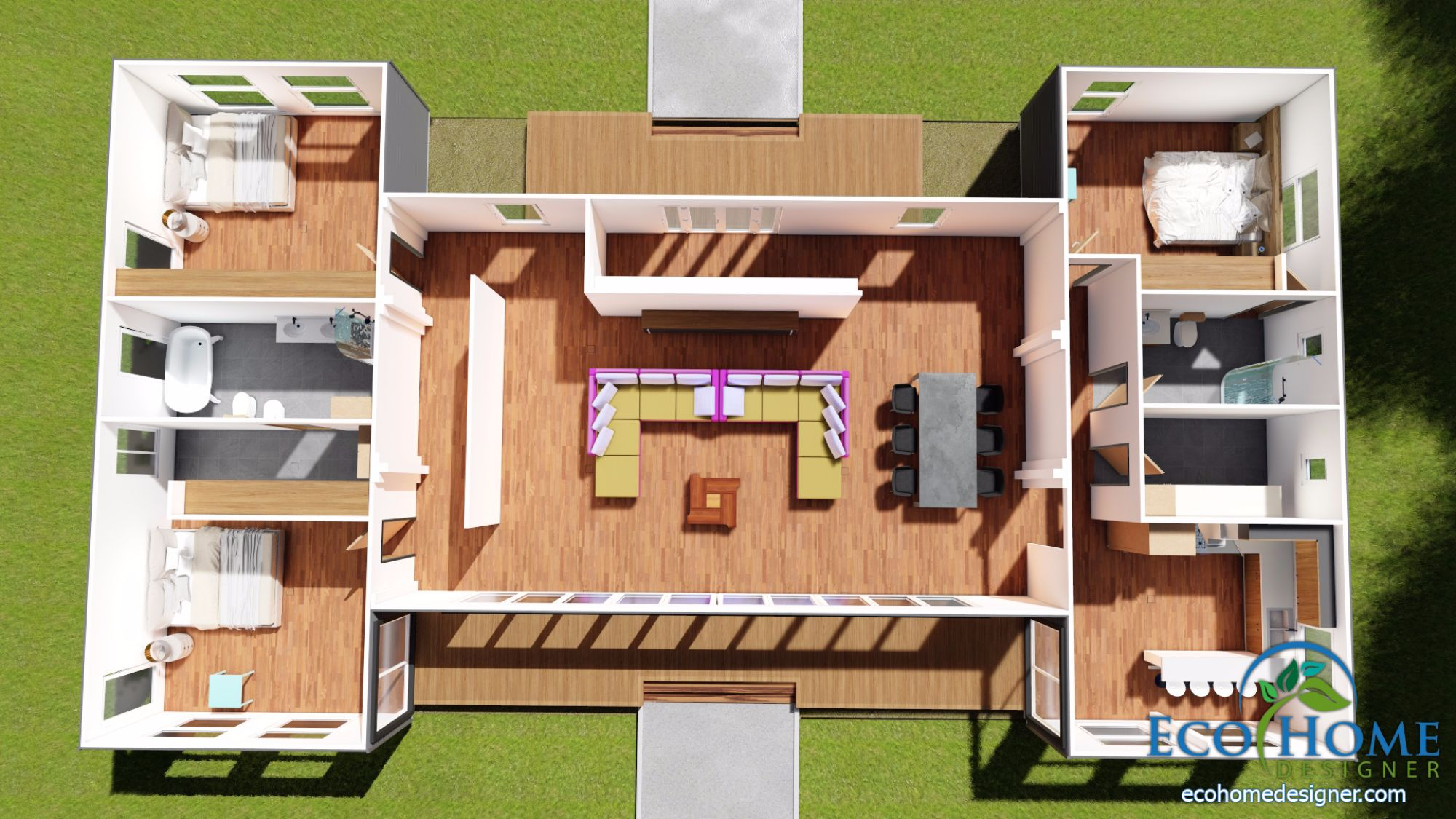 Shipping Container Floor Plan Designs Sch16 7 X 40ft Refrigeration Containers With Iron Cladding