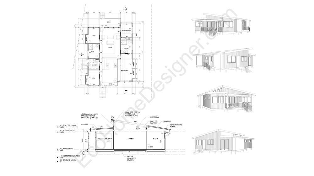 ... 40ft Container Home Plans