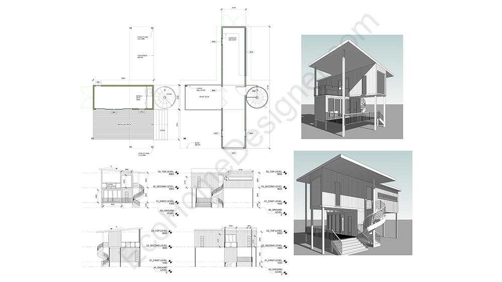 Custom Container Home Plans Eco Home Designer