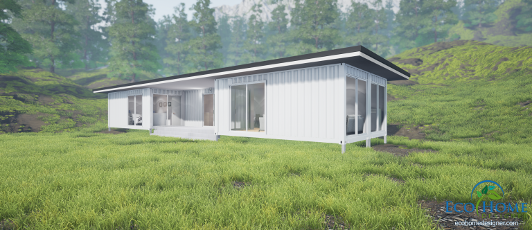 20ft shipping container home plans