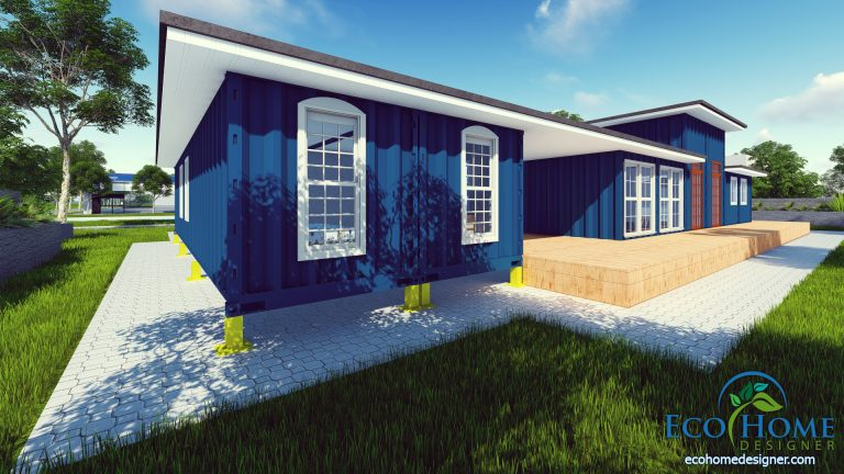 container house plans andejong design