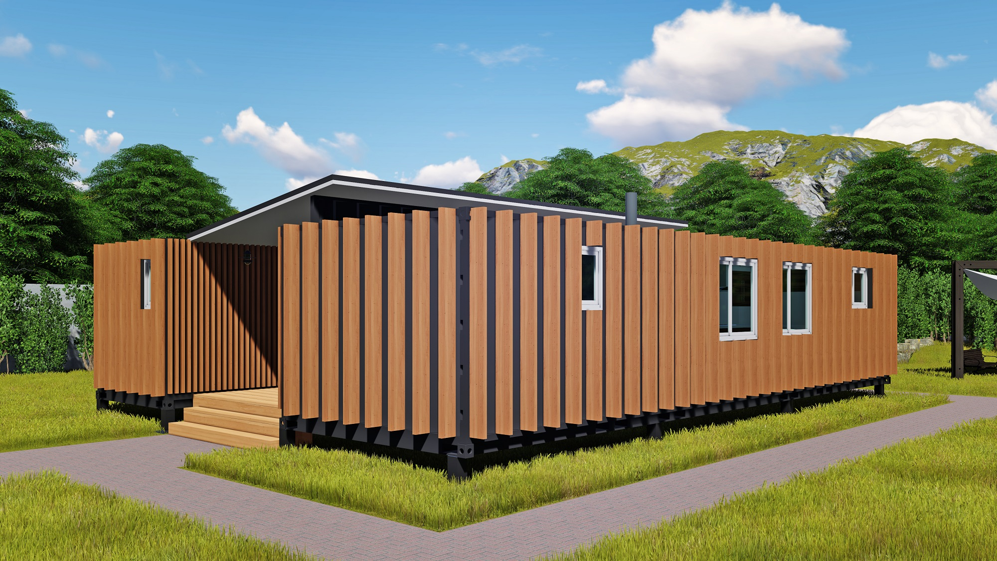 Unique 30 Eco Shipping Container Home on 40 Ft Shipping Container Office Floor Plans
