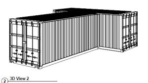 20ft shipping container plan