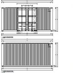 2 x 20ft shipping container plan a3