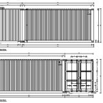 2 x 20ft shipping container plan a4
