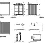 Shipping container plan details