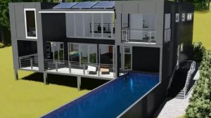 Custom Container Home Plans