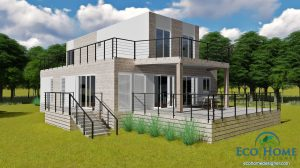 SCH25 Beach container home 2