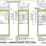 Container home bathroom layout