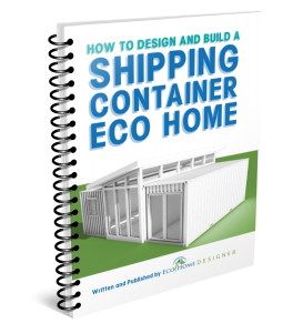 how to build a shipping container home book